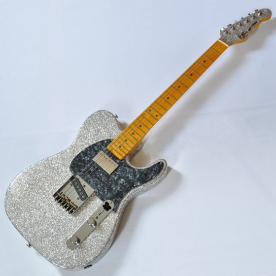 G&L ASAT Classic Bluesboy USA Custom Made Guitar in Silver Flake, G&L ASAT Classic Bluesboy Silver Flake