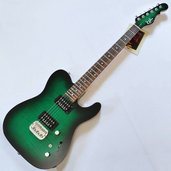 G&L ASAT Deluxe USA Custom Made Guitar in Greenburst, G&L ASAT Deluxe Greenburst