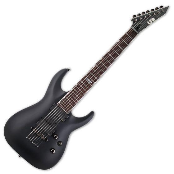 ESP LTD MH-417 Guitar in Black Satin B stock, MH-417 BLKS.B