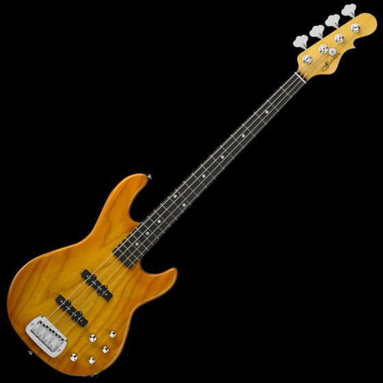 G&L MJ-4 USA Custom Made Electric Bass in Honeyburst, G&L USA MJ-4 Honeyburst