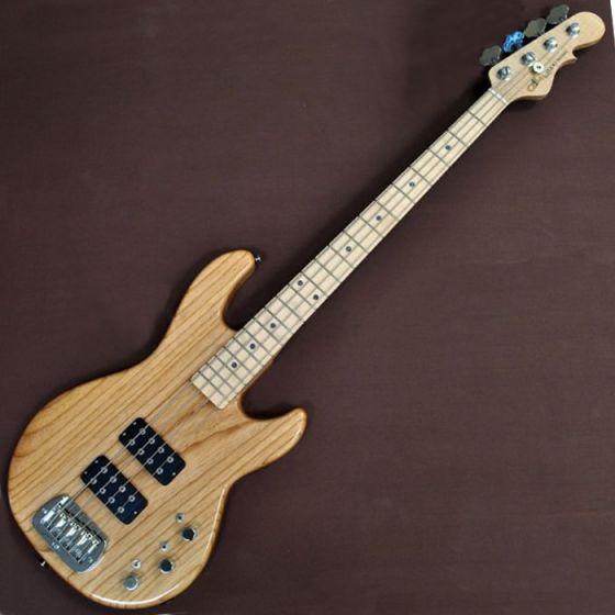 G&L L-2000 USA Custom Made Electric Bass in Natural Maple Fretboard, G&L USA L-2000 Natural MP