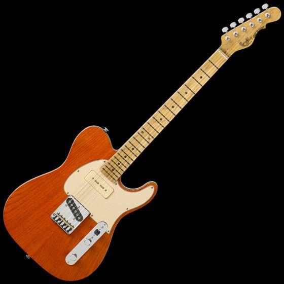 G&L ASAT Classic Bluesboy 90 USA Custom Made Guitar in Clear Orange, G&L ASAT Classic Bluesboy 90 Clear Orange