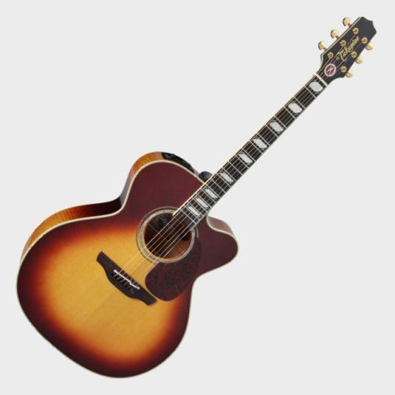 Takamine Signature Series EF250TK Toby Keith Acoustic Guitar in Sunburst Finish, TAKEF250TK