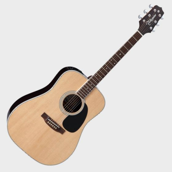 Takamine Signature Series EF360GF Glenn Frey Acoustic Guitar in Natural Finish, TAKEF360GF