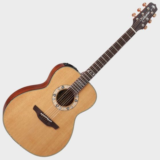 Takamine Signature Series KC70 Kenny Chesney Acoustic Guitar in Natural Finish, TAKKC70