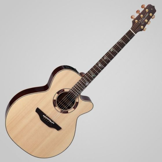 Takamine TSF48C Sante Fe NEX Legacy Series Acoustic Guitar in Gloss Natural Finish, TAKTSF48C