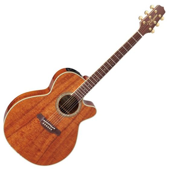 Takamine EF508KC Legacy Series Acoustic Guitar in Natural Gloss Finish, TAKEF508KC