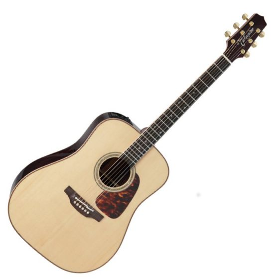 Takamine P7D Pro Series 7 Acoustic Guitar in Natural Gloss Finish, TAKP7D
