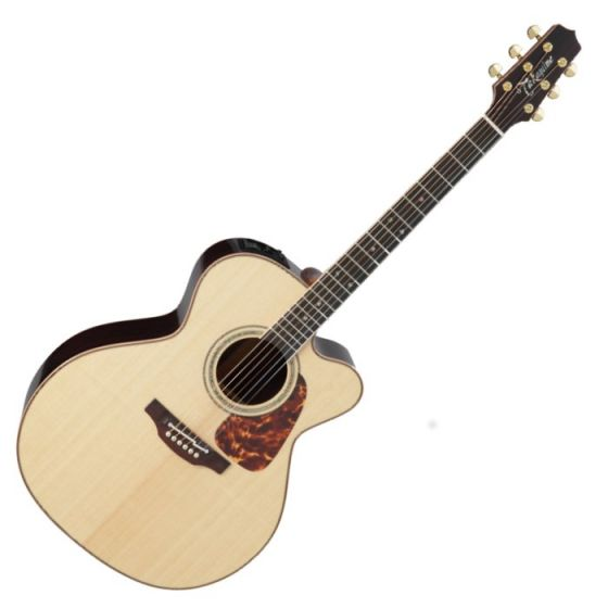 Takamine P7JC Pro Series 7 Acoustic Guitar in Natural Gloss Finish, TAKP7JC