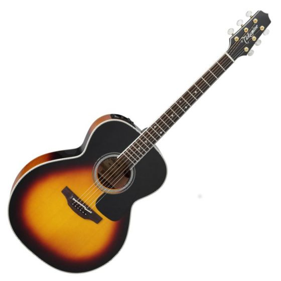 Takamine P6N BSB Pro Series 6 Acoustic Guitar in Brown Sunburst Finish, TAKP6NBSB