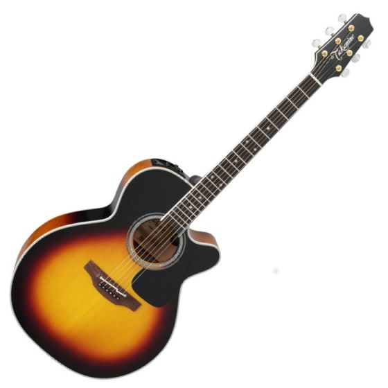 Takamine P6NC BSB NEX Cutaway Acoustic Guitar in Brown Sunburst Finish, TAKP6NCBSB