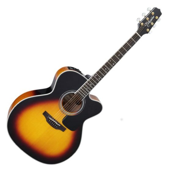 Takamine P6JC BSB Pro Series 6 Cutaway Acoustic Guitar in Brown Sunburst Finish, TAKP6JCBSB