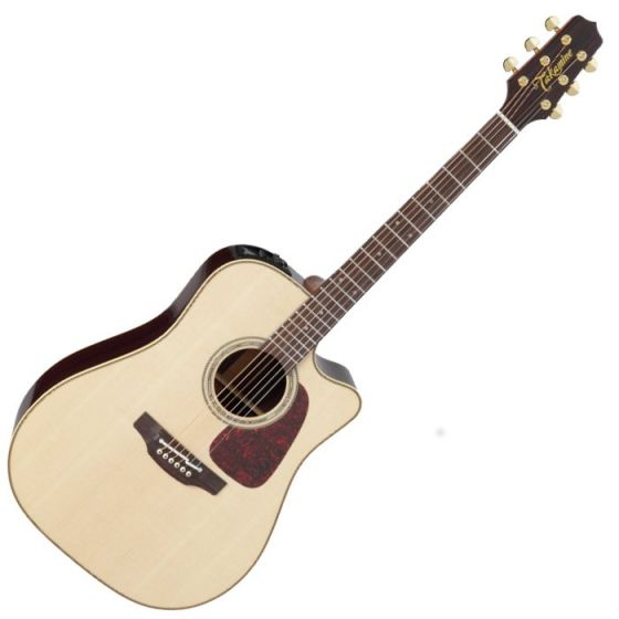 Takamine P5DC Dreadnought Acoustic Electric Guitar Natural Gloss[, TAKP5DCNAT]