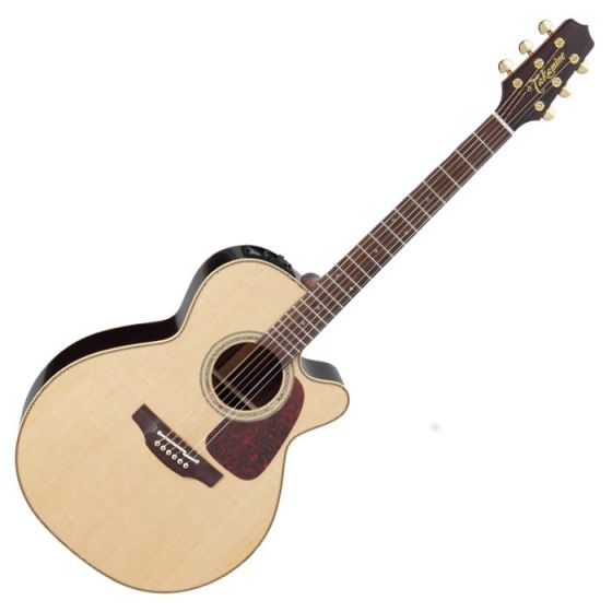 Takamine P5NC Pro Series 5 Cutaway Acoustic Guitar in Natural Gloss Finish, TAKP5NC