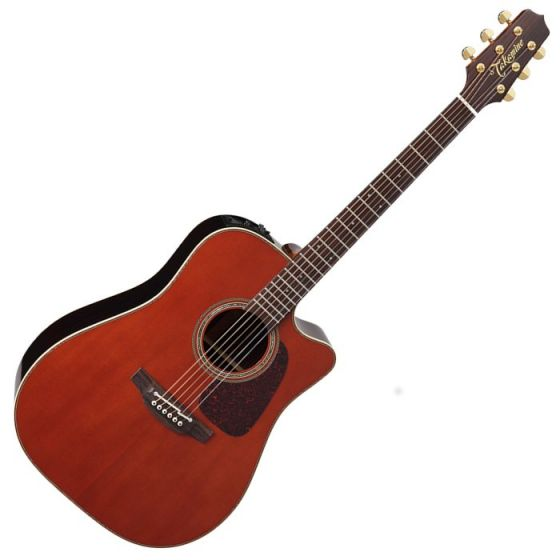Takamine P5DC-WB Pro Series 5 Cutaway Acoustic Guitar in Whiskey Brown Finish, TAKP5DCWB
