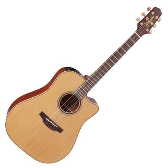 Takamine P3DC Pro Series 3 Cutaway Acoustic Guitar in Satin Finish, TAKP3DC
