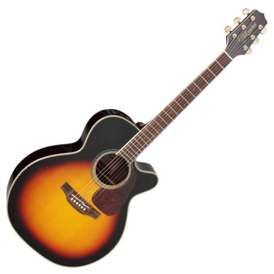 Takamine GN71CE-BSB G-Series G70 Acoustic Guitar in Brown Sunburst Finish, TAKGN71CEBSB