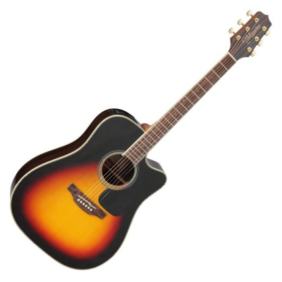 Takamine GD51CE-BSB G-Series G50 Cutaway Acoustic Electric Guitar in Brown Sunburst Finish, TAKGD51CEBSB