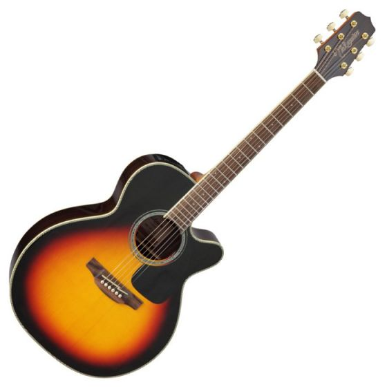 Takamine GN51CE-BSB Acoustic Electric Guitar in Brown Sunburst Finish[, TAKGN51CEBSB]