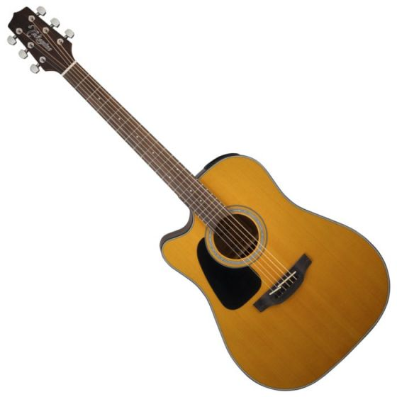 Takamine GD30CELH-NAT G-Series G30 Left Handed Acoustic Electric Guitar in Natural Finish, TAKGD30CELHNAT