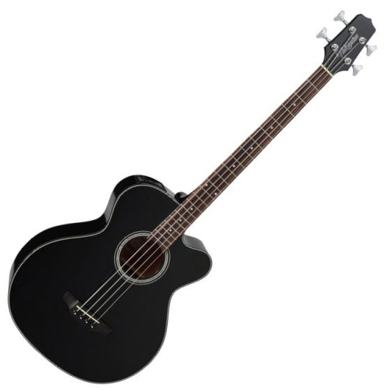 Takamine GB30CE-BLK G-Series Acoustic Electric Bass in Black Finish, TAKGB30CEBLK