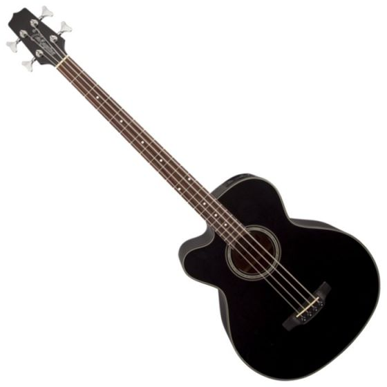 Takamine GB30CELH-BLK G-Series Left Handed Acoustic Electric Bass in Black Finish, TAKGB30CELHBLK