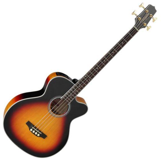 Takamine GB72CE-BSB G-Series Acoustic Electric Bass in Brown Sunburst Finish, TAKGB72CEBSB