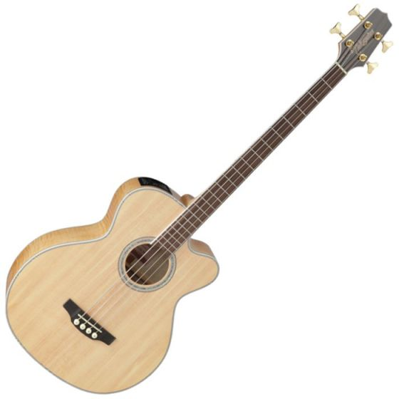 Takamine GB72CE-NAT G-Series Acoustic Electric Bass in Natural Finish, TAKGB72CENAT