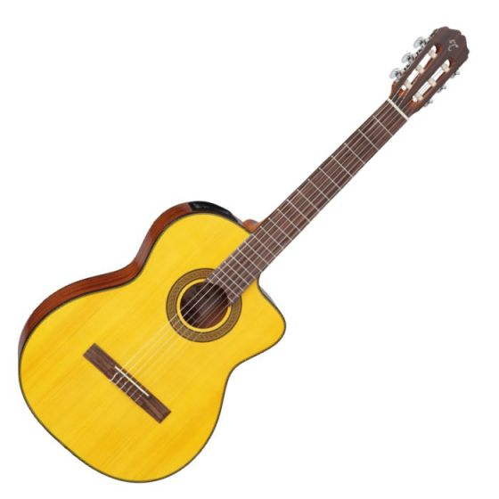Takamine GC3CE-NAT G-Series Acoustic Electric Classical Guitar in Natural Finish, TAKGC3CENAT