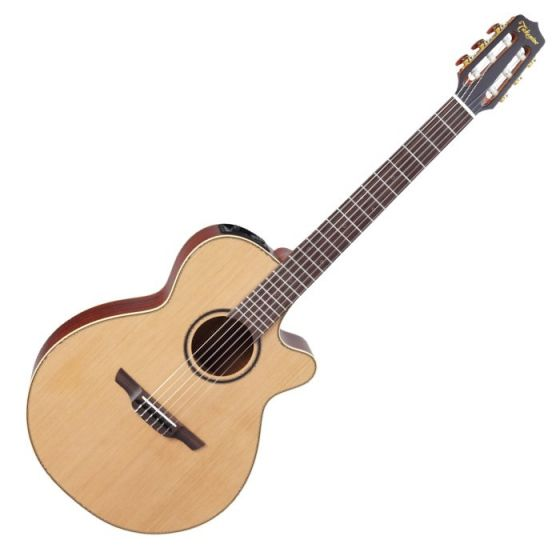 Takamine P3FCN Pro Series 3 Nylon Acoustic Electric Guitar in Satin Finish, TAKP3FCN