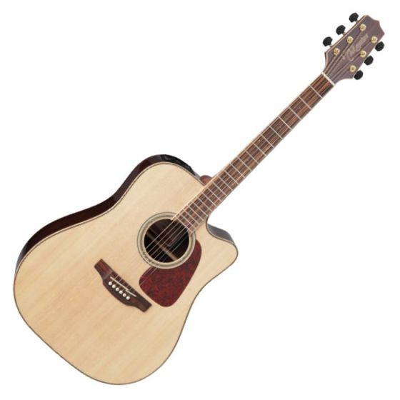 Takamine GD93CE-NAT G-Series G90 Cutaway Acoustic Electric Guitar in Natural Finish, TAKGD93CENAT