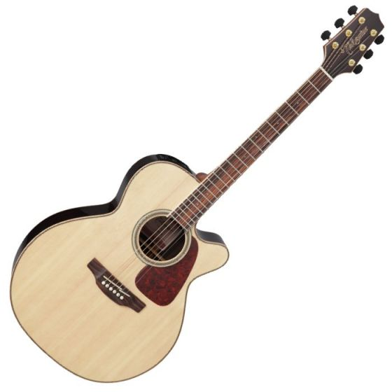 Takamine GN93CE-NAT G-Series G90 Cutaway Acoustic Electric Guitar in Natural Finish, TAKGN93CENAT