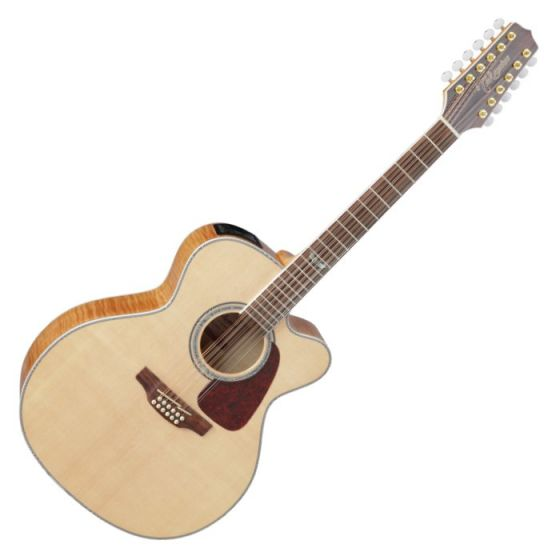 Takamine GJ72CE-NAT G-Series G70 Cutaway Acoustic Electric Guitar in Natural Finish, TAKGJ72CENAT