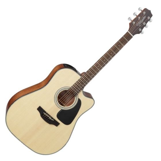 Takamine GD30CE-NAT G-Series G30 Acoustic Electric Guitar in Natural Finish, TAKGD30CENAT
