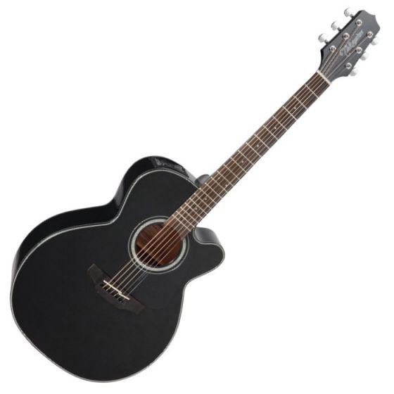 Takamine GN30CE-BLK Acoustic Electric Guitar in Black Finish, TAKGN30CEBLK