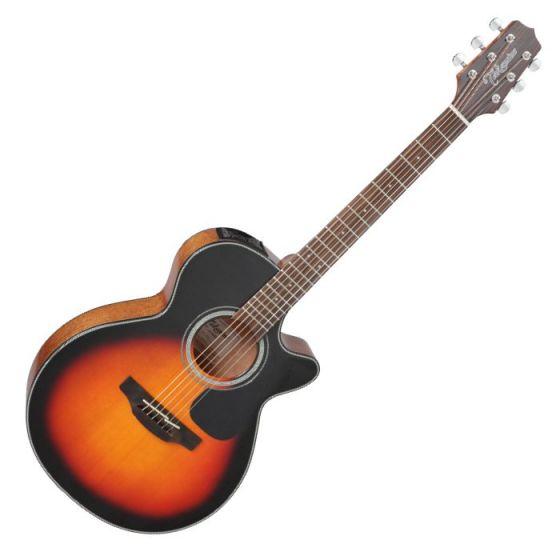 Takamine GF30CE-BSB G-Series G30 Cutaway Acoustic Electric Guitar in Brown Sunburst Finish, TAKGF30CEBSB