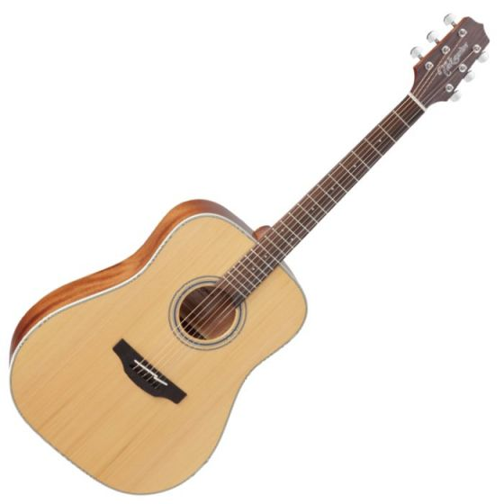 Takamine GD20-NS G-Series G20 Acoustic Guitar in Natural Finish, TAKGD20NS