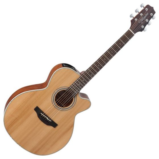 Takamine GN20CE-NS G-Series G20 Cutaway Acoustic Electric Guitar in Natural Finish, TAKGN20CENS
