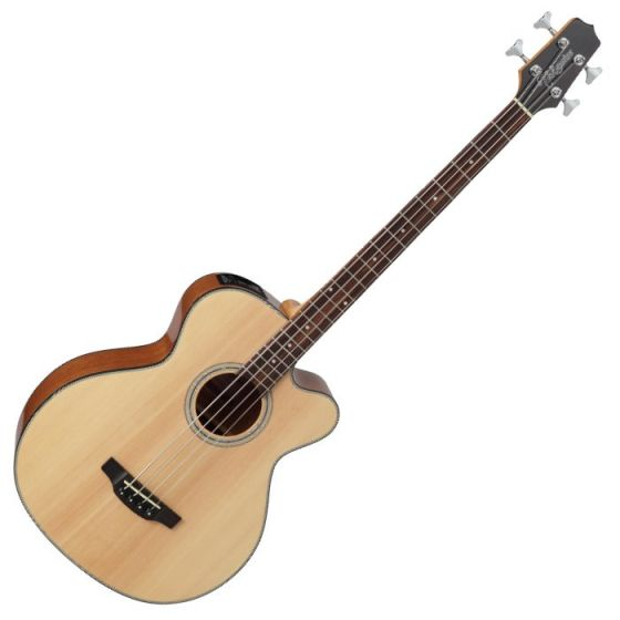 Takamine GB30CE-NAT G-Series Acoustic Electric Bass in Natural Finish, TAKGB30CENAT