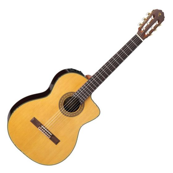Takamine TC132SC Classical Acoustic Electric Guitar in Natural Gloss Finish, TAKTC132SC