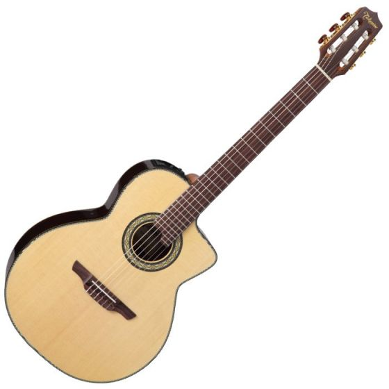 Takamine TC135SC Classical Acoustic Electric Guitar in Natural Gloss Finish[, TAKTC135SC]