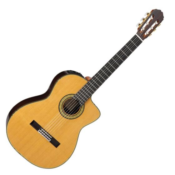 Takamine TH5C Classical Acoustic Electric Guitar in Natural Gloss Finish[, TAKTH5C]