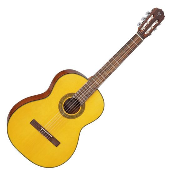 Takamine GC1-NAT Left Handed G-Series Classical Guitar in Natural Finish, TAKGC1LHNAT
