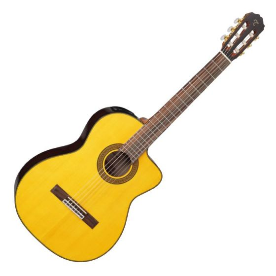 Takamine GC5CELH-NAT Left Handed G-Series Acoustic Electric Classical Guitar in Natural Finish[, TAKGC5CELHNAT]