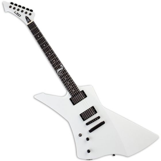 ESP LTD James Hetfield Snakebyte Lefty Electric Guitar in Snow White, LSNAKEBYTESWLH.B