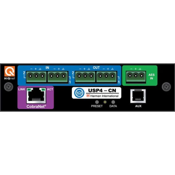 Crown Audio IQ3USP4CN PIP-USP4-CN  IQ Programmable Input Processor Card, IQ3USP4CN