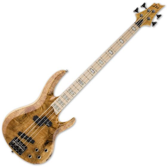 ESP LTD RB-1004BM HN 4-String Electric Bass Guitar in Honey Natural, RB-1004BM-HN