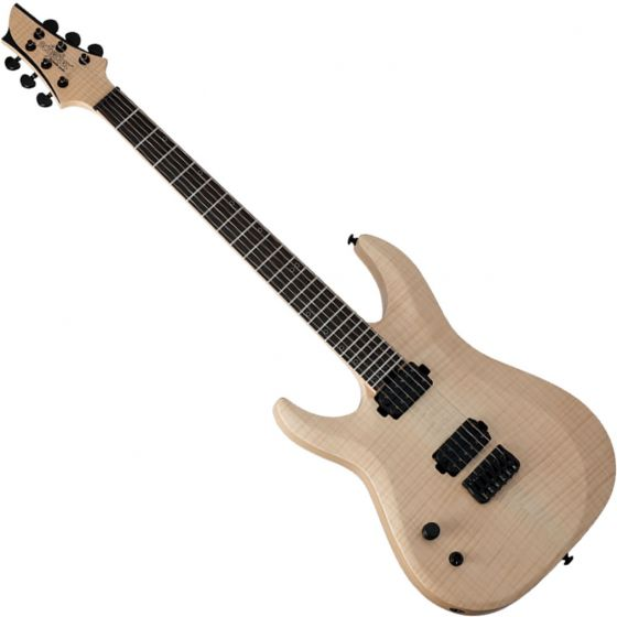 Schecter Signature Keith Merrow KM-6 MK-II Left-Handed Electric Guitar Natural Pearl, 264