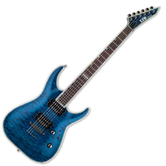 ESP LTD Deluxe MH-1000NT Duncan Blue Electric Guitar, MH-1000NT Blue