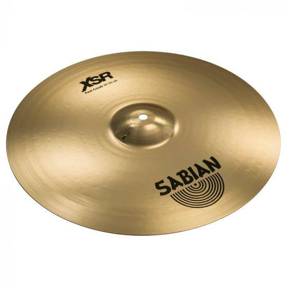 Sabian 16 Inch XSR Fast Crash Cymbal - XSR1607B, XSR1607B